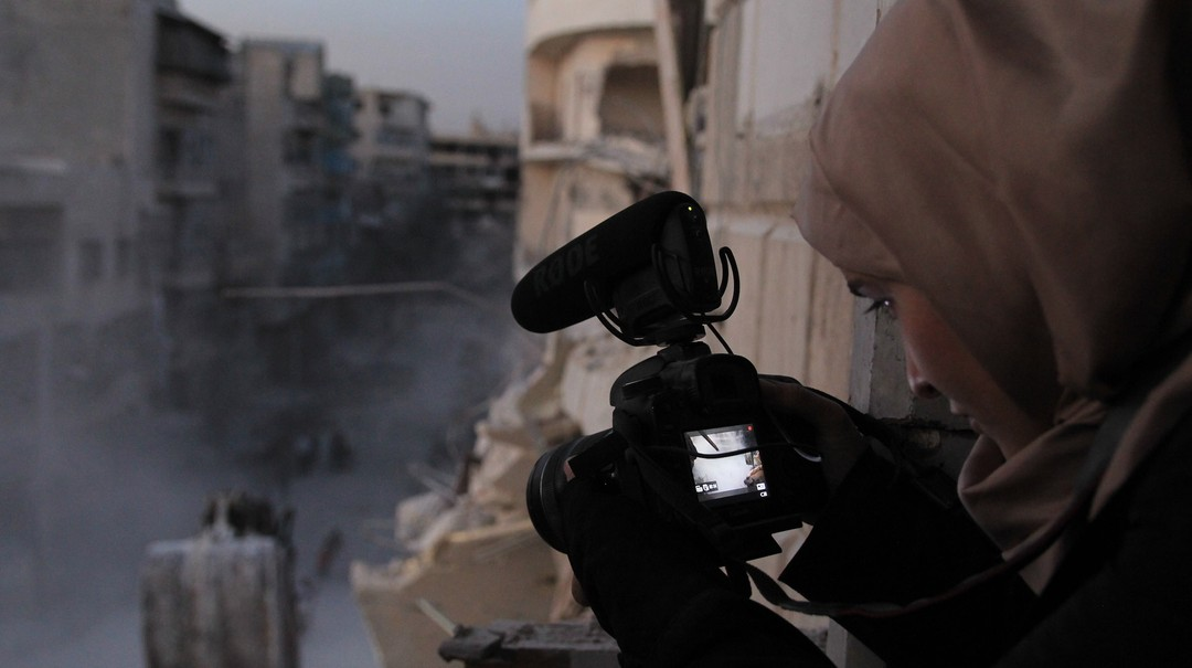 致莎瑪︰敘利亞家書電影劇照2